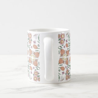 Frühlings-Blumen-Tasse Tasse