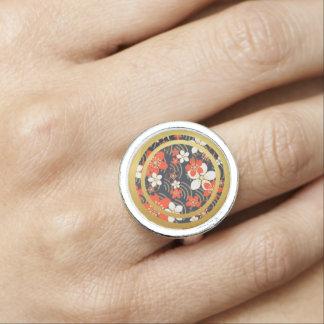 Frühlings-BlumenBlumen-runder Ring