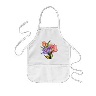 Frühlings-Blumenstrauß Kinderschürze