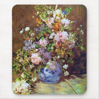 Frühlings-Blumenstrauß-schöne Kunst Mousepad