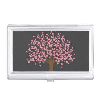 Frühlings-Blüten-Baum Visitenkarten-Schatullen