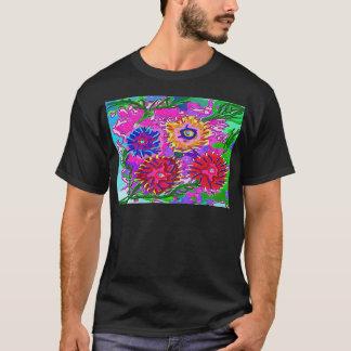 Frühlings-Liebe für Sie - vibrierendes Foral T-Shirt