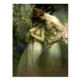 Frühlings-Nacht - Postkarte