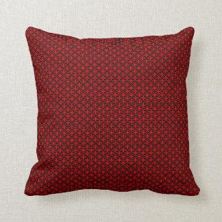 Frühlings-Natur-rote schwarze moderne populäre Kissen