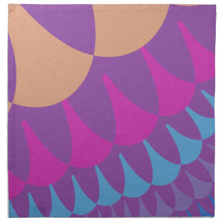 Frühlings-Pastellskala-Muster-Tafelservietten Serviette