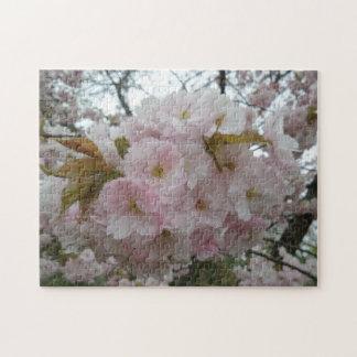 Frühlings-Pinky Foto-Puzzlespiel mit Geschenkboxen
