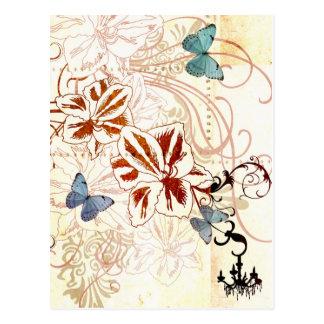 Frühlings-Postkarte Postkarte