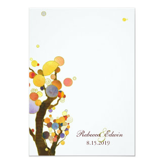 Frühlings-Ranch-Hochzeits-Feier 12,7 X 17,8 Cm Einladungskarte