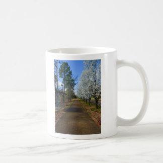 Frühlings-Weg Kaffeetasse
