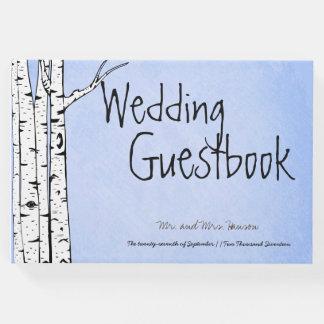 Frühlings-wunderliches Birken-Baum-Gast-Buch Gästebuch