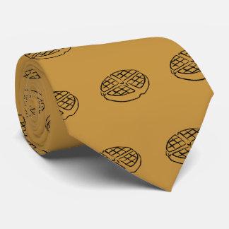 Frühstücksliebhaber Waffel-Krawatte Personalisierte Krawatte