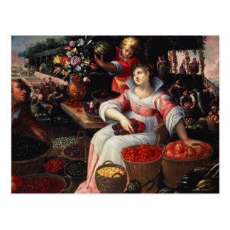 Fruitmarket, 1590 postkarte