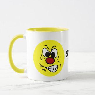 Frustrierter Smiley Grumpey Tasse