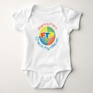 FTF Windel-Bodysuit Baby Strampler