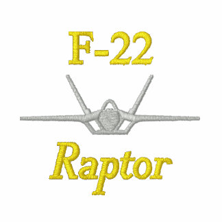 FU Flügel auf Golf-Polo mit F-22 und Rufzeichen