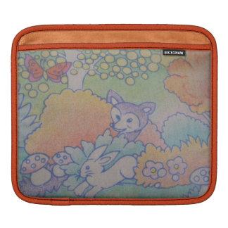 fuchs und Kaninchen Sleeve Für iPads