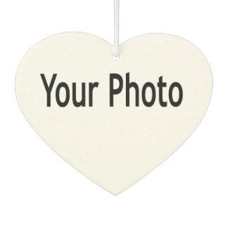 Fügen Sie Ihr Foto diesem Lufterfrischungsmittel Lufterfrischer