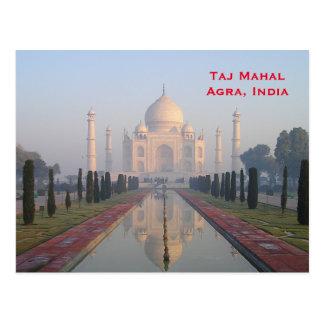 Fügen Vintage Tourismus-Reise Indiens hinzu Postkarten