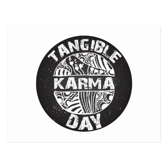 Fühlbarer Karma-Tag 2 Postkarte