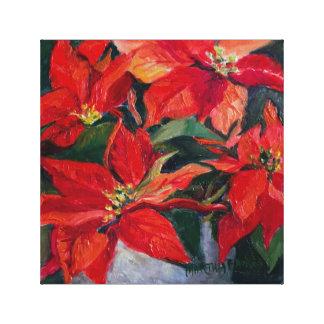 Fühlbarer Ruhm--Frohe Weihnachten Leinwanddruck