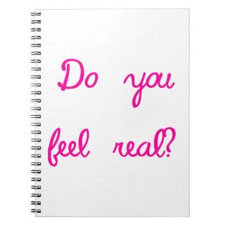 Fühlen Sie sich wirklich? Spiral Notizblock