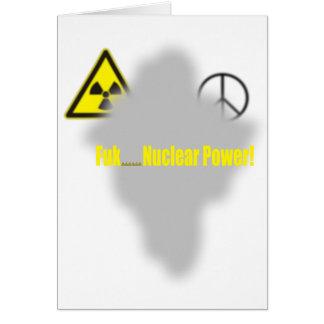Fukushima-Lektion Karte