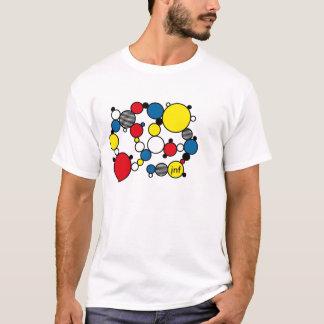 fun mondrian colour circles style T-Shirt