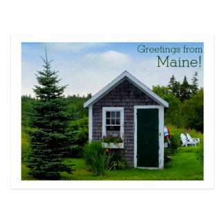Fundamentales Maine! Postkarte