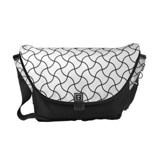Fundotsunagi japanische Muster-Bote-Tasche Kurier Tasche