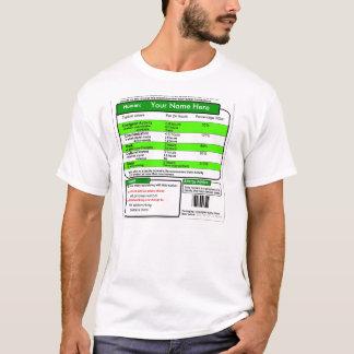Fünf eine Taggesunde Sozialvernetzung T-Shirt