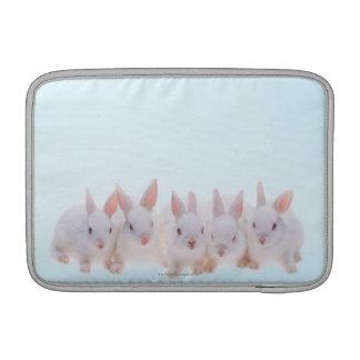 Fünf Kaninchen MacBook Sleeve