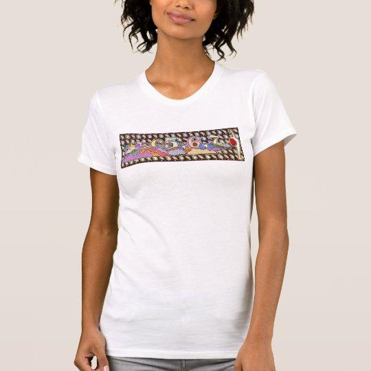 fünf sechs sieben heben Ihre Arme zu Himmel T - T-Shirt