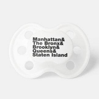 Fünf Städte ~ New York City Schnuller