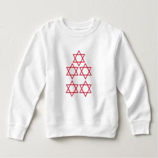 Fünf-Sternefünf spielen Fünf-Sternescheinbildkunst Sweatshirt