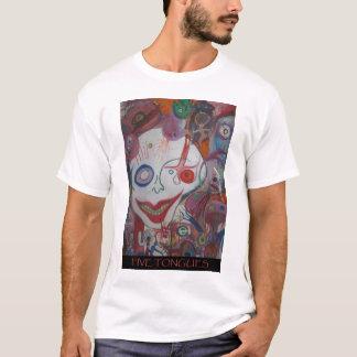 fünf Zungen T-Shirt