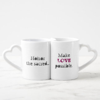 Fünfte heilige ermöglichen Liebe Duo-Tassen
