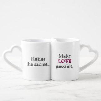 Fünfte heilige ermöglichen Liebe Liebestassen