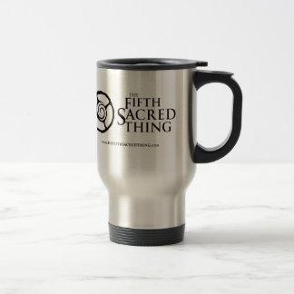Fünfte heilige gewundene Logo-Tasse Reisebecher