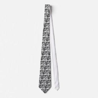 Fünfzigerjahre Kinder auf Sankt Pferdeschlitten Bedruckte Krawatten