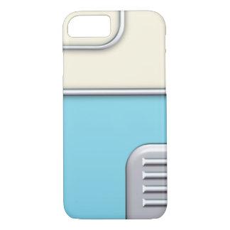 Fünfzigerjahre Retro Art-blauer/SahneiPhone 7 iPhone 8/7 Hülle