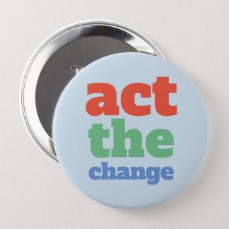 Fungieren die Änderung, ändern - Schriftart u. Runder Button 10,2 Cm