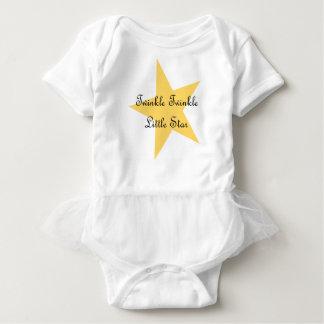 Funkeln-Stern-Bodysuit Baby Strampler