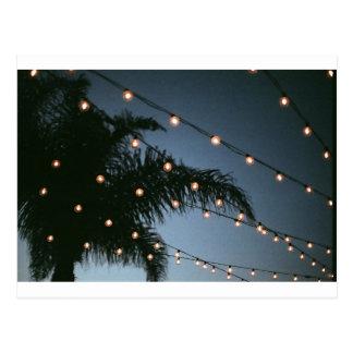 Funkelnde Lichter Postkarte