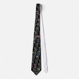 Funkelnde neue Jahre Krawatten