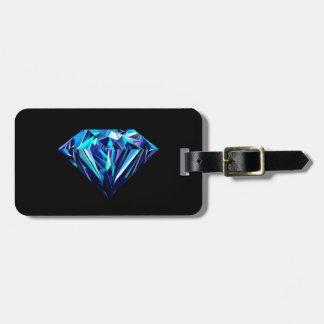 Funkelnder Diamant Gepäckanhänger