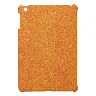 Funkelnder Kürbis-orange Glitter iPad Mini Etui