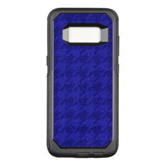 funkelndes Hahnentrittmuster, inky Blau (i) OtterBox Commuter Samsung Galaxy S8 Hülle