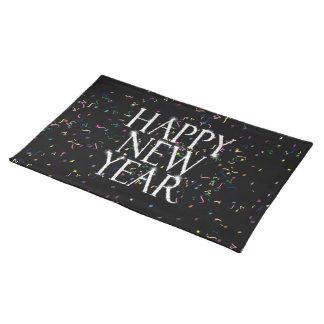Funkelnguten Rutsch ins Neue Jahr Tischset