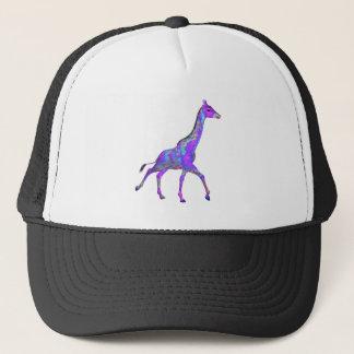 Funkelnhippie-Art-lila Giraffe Kultkappe