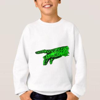 Funken des Lebens - Hand eines Cyborg-Gottes Sweatshirt
